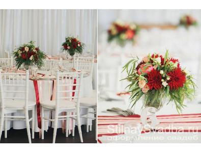 Свадьба Леши и Тани в европейском стиле с бордовыми оттенками (11)