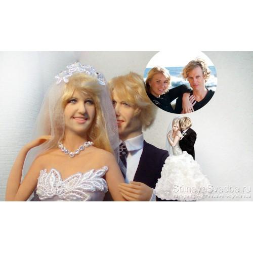 Портретные куклы купить  к свадьбе фото
