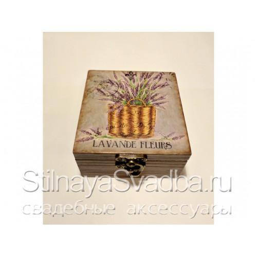 Шкатулочка Lavende Fleurs. Фото 000.