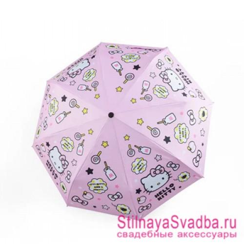 Зонтик для девочек «Hello Kitty» фото