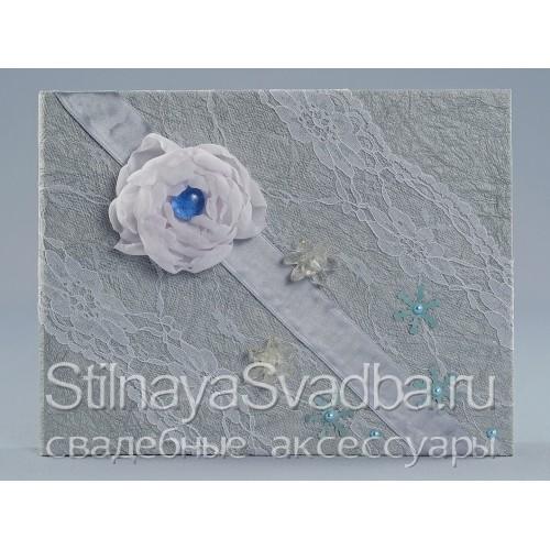 Альбом для зимней свадьбы Серебро фото
