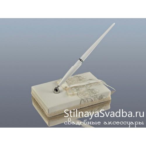 Cвадебная ручка на подставке фото