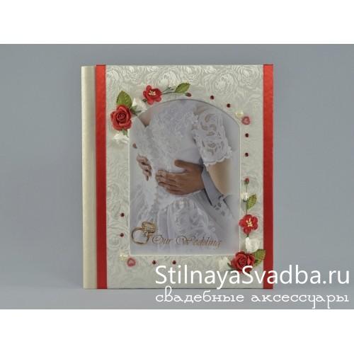 Фотоальбом свадебный Romantic heart фото