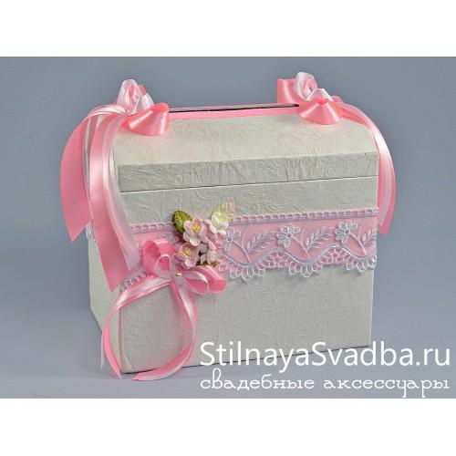 Фото. Казна для поздравительных конвертов Вишнёвый сад