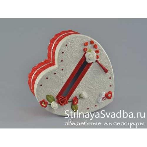 Казна для денежных подарков Romantic heart фото