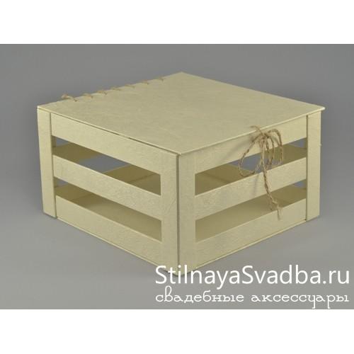 Казна, ящик для свадебных поздравлений фото