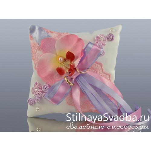 Подушечка для колец Нежность орхидеи фото