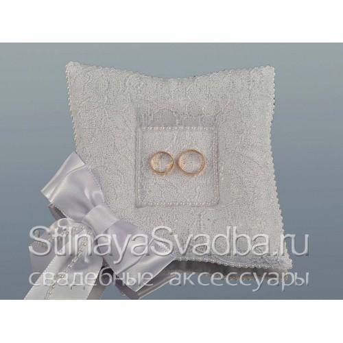 Фото. Подушечка для для зимней свадьбы