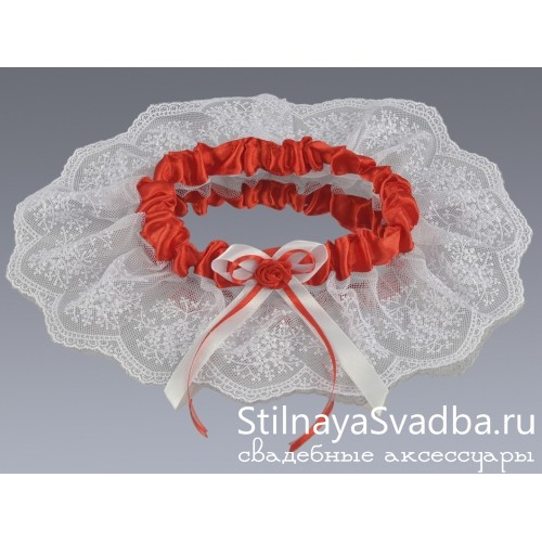 Подвязка Romantic heart фото
