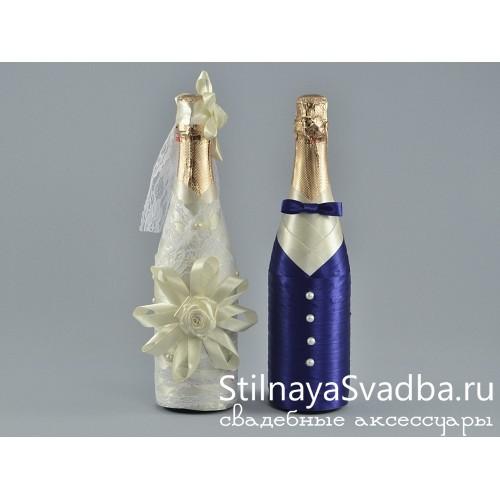 Декор шампанского Сладкая парочка фото