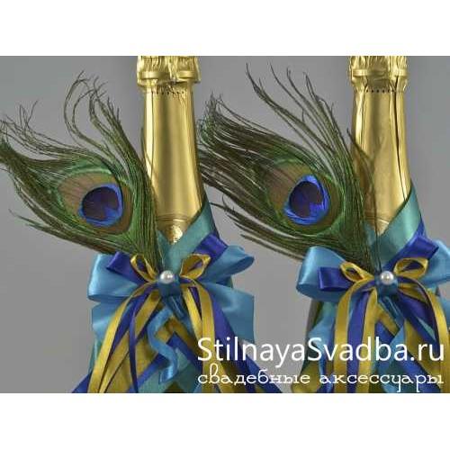 Съемные украшения Сказочный павлин фото