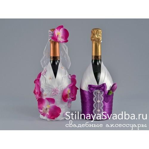 Декор шампанского Кокетка фото