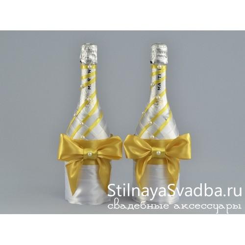 Декор бутылок на свадьбу фото