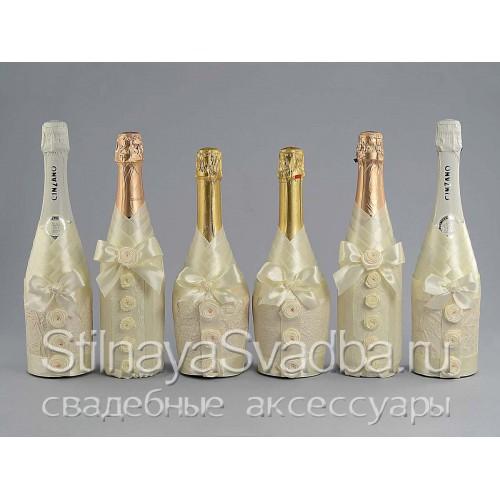 Шампанское в подарок гостям на свадьбе фото