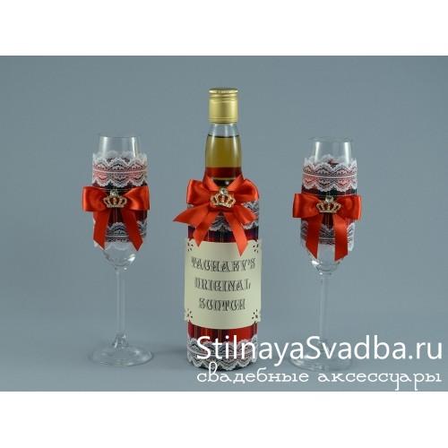Декор бутылки шотландского скотча фото