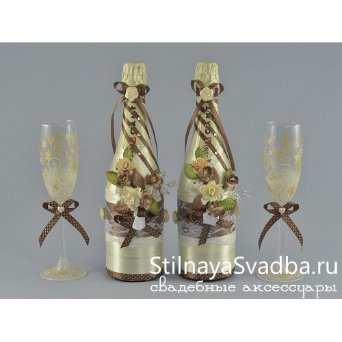Декор шампанского Ваниль и Шоколад фото