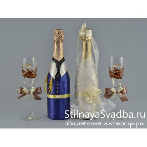 Декор шампанского лётно-самолётной коллекции фото