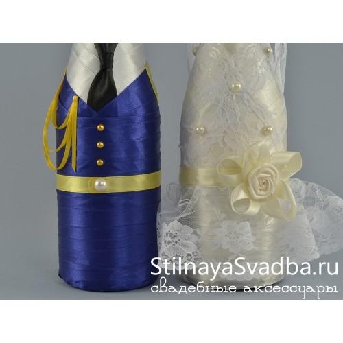 Декор шампанского лётно-самолётной коллекции. Фото 000.