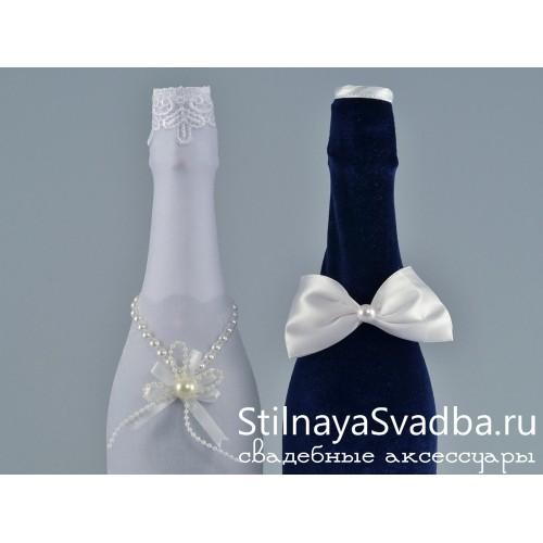 Съёмные украшения для шампанского. Фото 000.