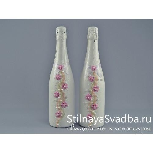 Купить декорированную бутылку шампанского фото