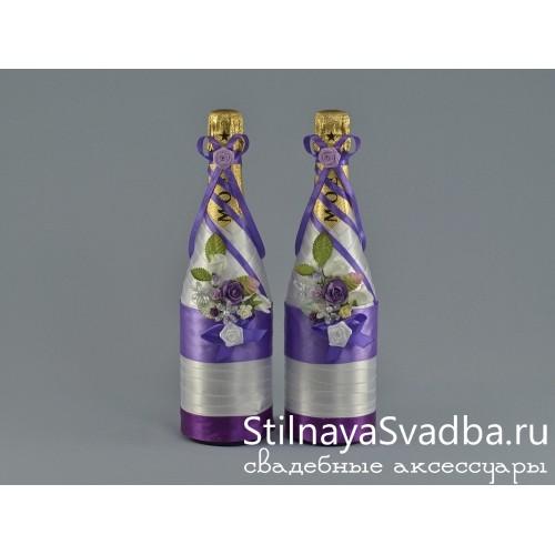 Декор шампанского  на свадьбу  Офелия фото