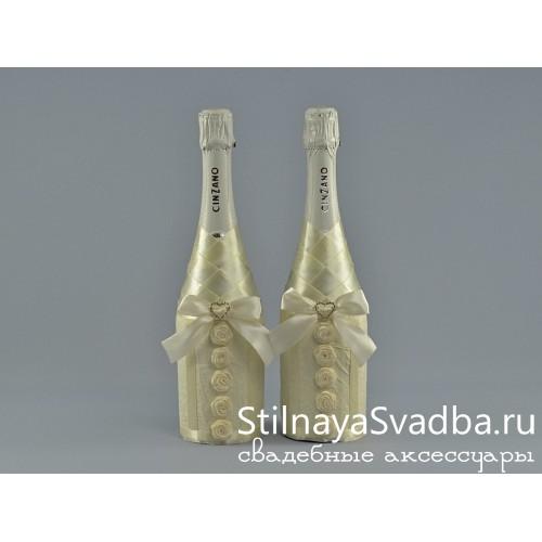 Красивое шампанское на свадьбу фото
