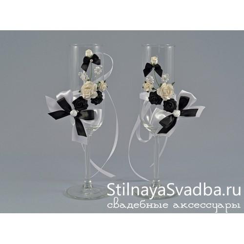 Съемные украшения Black and White. Фото 000.