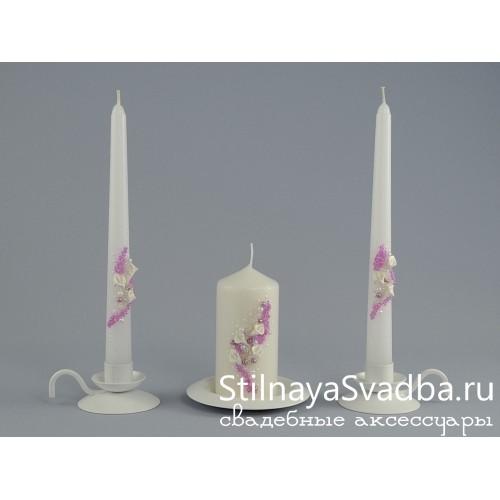 Свечи Нежные каллы фото