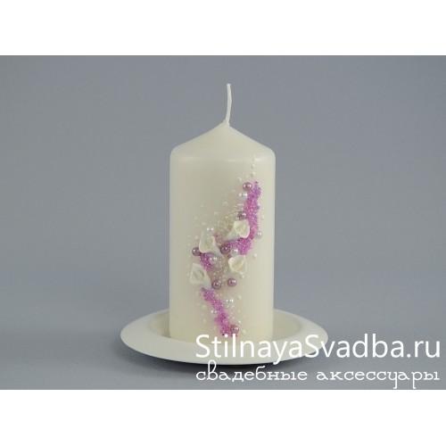 Свечи Нежные каллы. Фото 000.