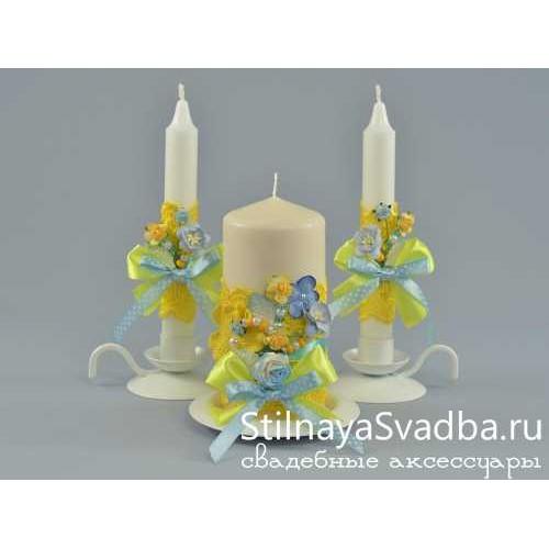 Свечи из коллекции Bali. Фото 000.