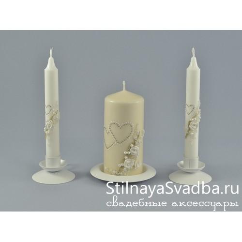 Фото. Свадебные свечи Торжество