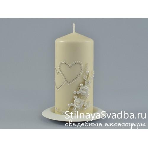 Свадебные свечи Торжество. Фото 000.
