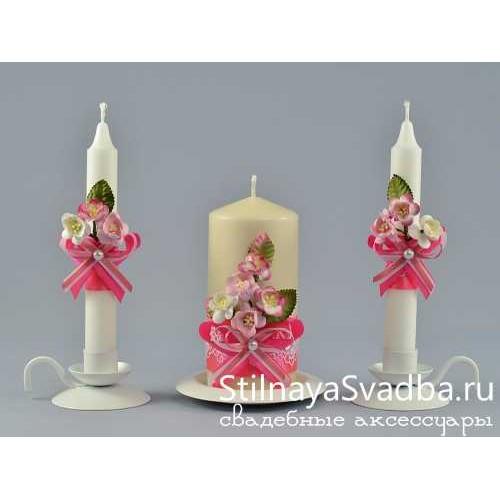Купить свадебные свечи  фото