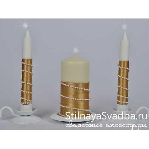 """Фото. Комплект свечей """"Версаль"""""""