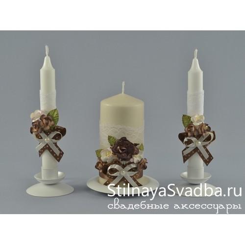 Свечи Ваниль и Шоколад фото
