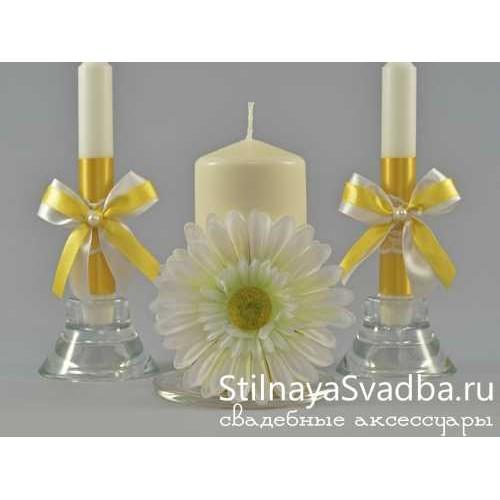 Свадебные свечи. Фото 000.