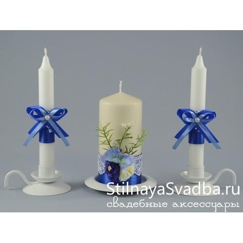 Свечи Лазурь фото