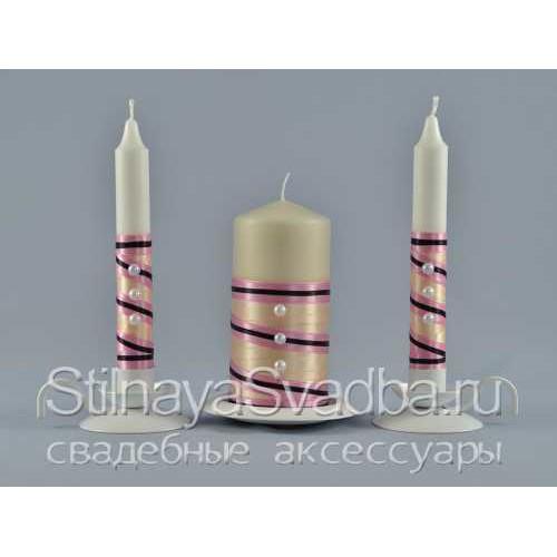 Фото. Свадебные свечи Happy family