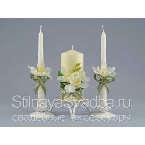 Свечи с фрезиями фото