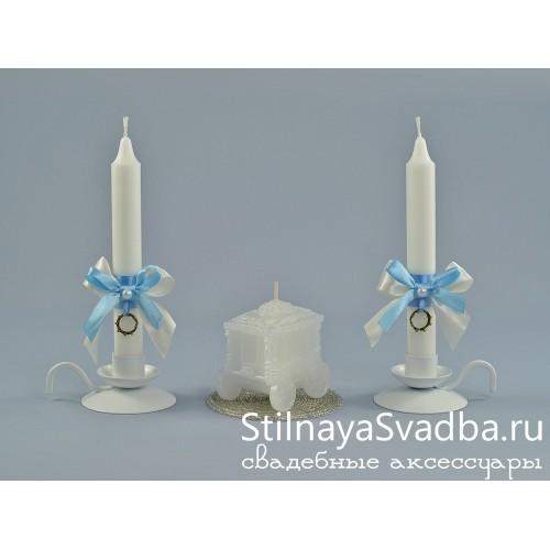 Комплект свечей Королевская свадьба фото