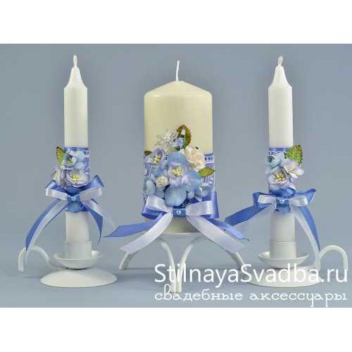 Комплект свечей Хрустальная мечта фото