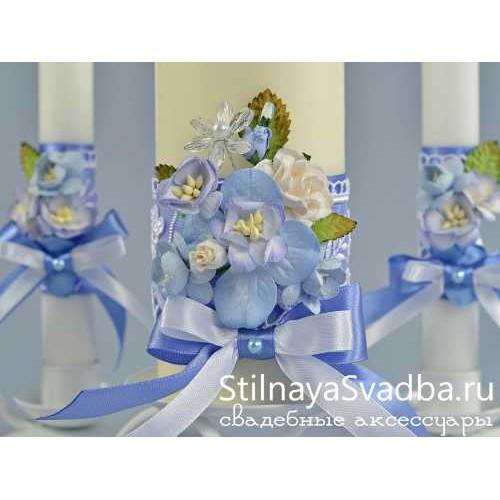 Комплект свечей Хрустальная мечта. Фото 000.