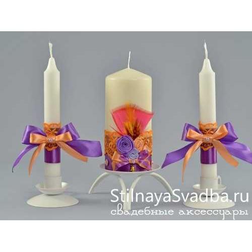 Фото. Комплект свечей Венецианский карнавал
