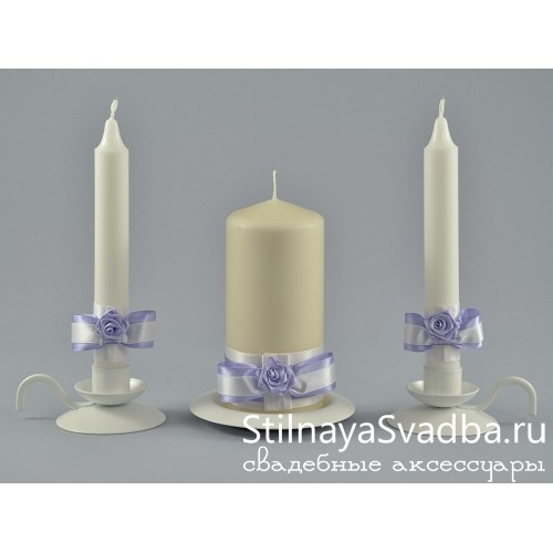 Свечи свадебные   фото