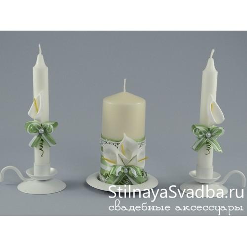 Свечи Каллы фото