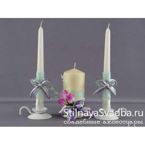 """Комплект свечей """"Весеннее настроение"""" фото"""