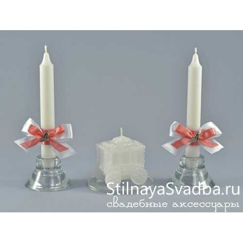 Фото. Комплект свечей Золушка