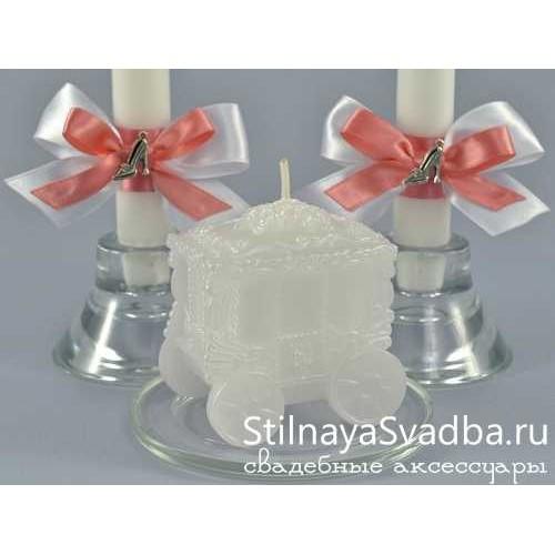 Комплект свечей Золушка. Фото 000.