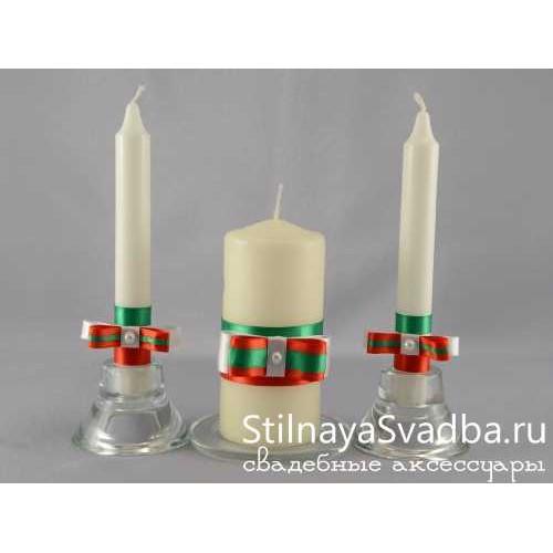 Фото. Свечи в итальянском стиле