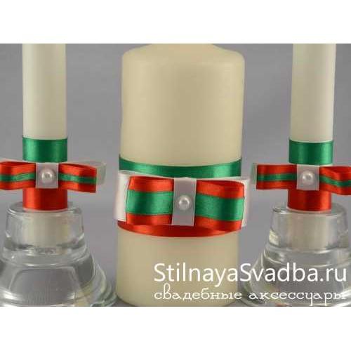 Свечи в итальянском стиле. Фото 000.